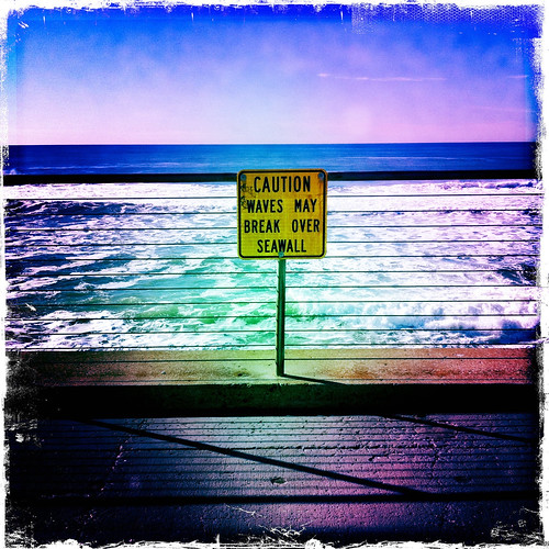 11.29.10 : caution sign, pacifica | by PJ Taylor Photo
