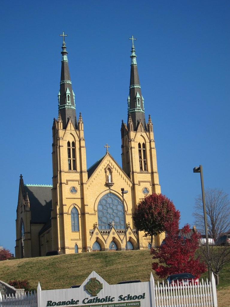 St andrew 39 s catholic church roanoke va facade william for Table 52 roanoke va