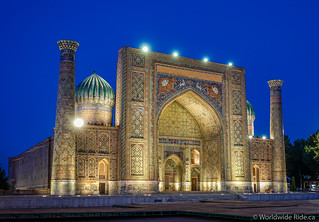 Samarkand Uzbekistan | by Worldwide Ride.ca
