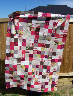 Pink Patchwork - Top Done! | by jessyroos