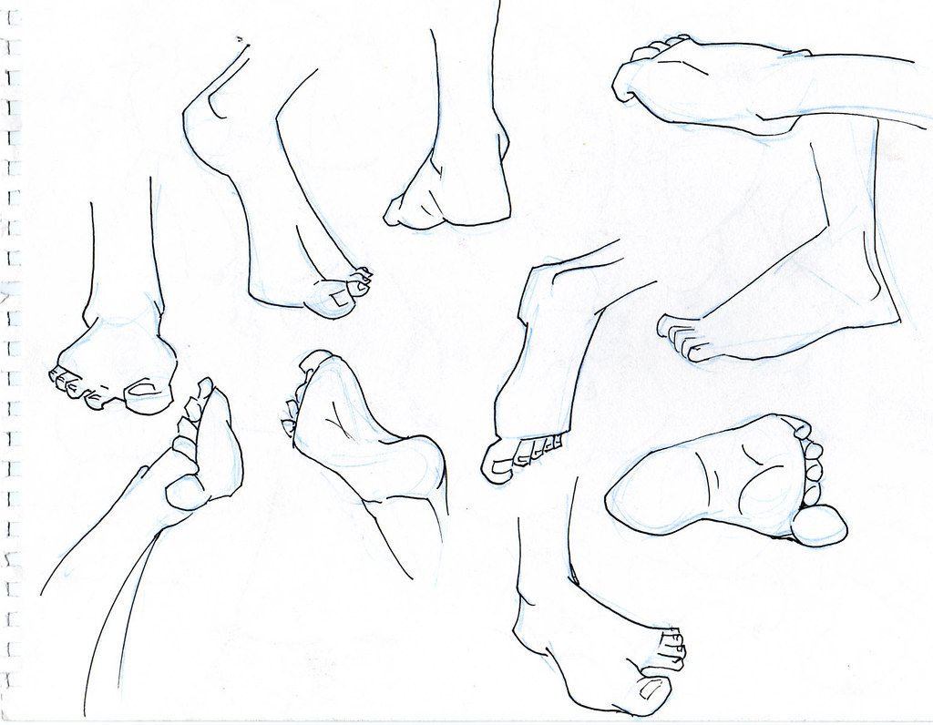 different feet positions by john livingstone john livingstone
