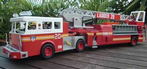 Fdny Ladder Ladder 20 Fdny-playmobil