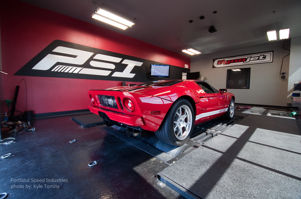Ford Gt On Dyno At Portland Speed Industries  By Kyle Tomita