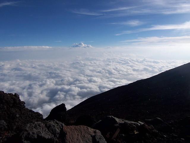 九合五勺から頂上へ, 富士山登山(富士宮ルート) Climbing Mt.Fuji