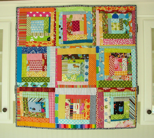 Quilt-as-you-go Baby Quilt | by BlueElephantStitches