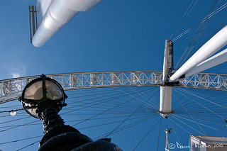 London Eye against Blue Sky | by Dominic Allkins