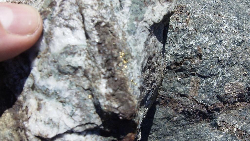 Gold Amp Iron Pyrite In Granite Amp Quartz Premier B C Flickr