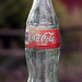 Weathered Coca Cola bottle from 1999