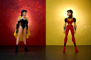 Crime Syndicate Superwoman vs. Justice Lords Wonder Woman (251/365) | by JD Hancock