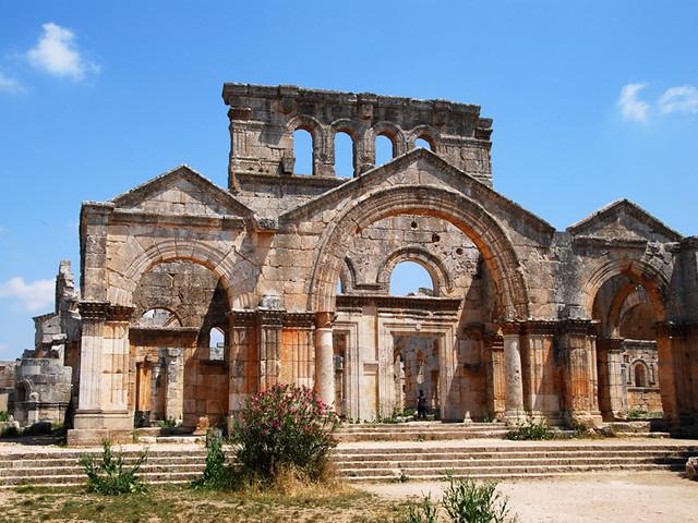 ruinas san simeon