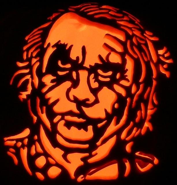 Joker pumpkin carving flickr photo sharing