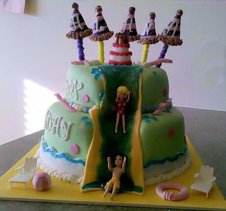 Summer Decorated Cakes