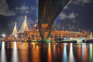 Bhumibol Bridge - Bangkok | by DeeMakMak