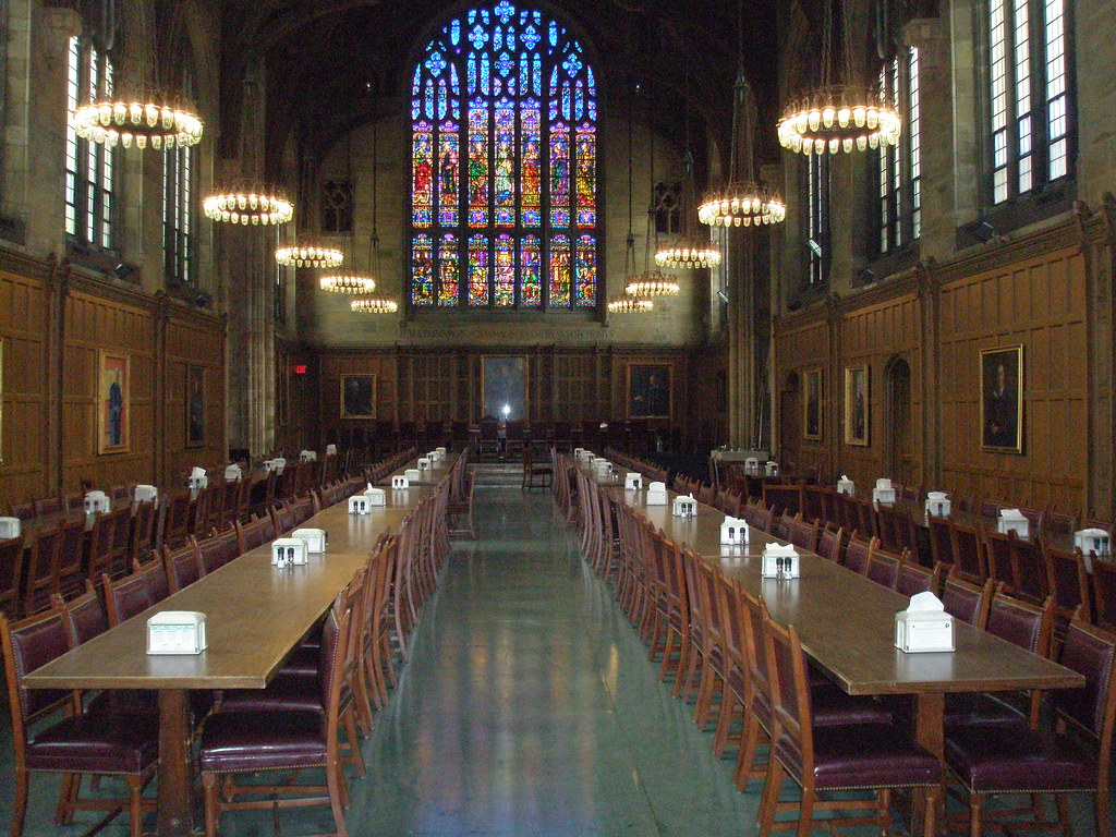 Inside the Princeton Dining Hall