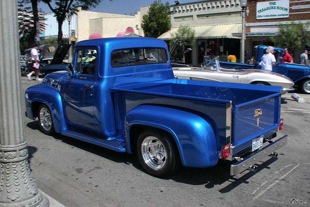 1956 Ford F100 - Mod - Blue