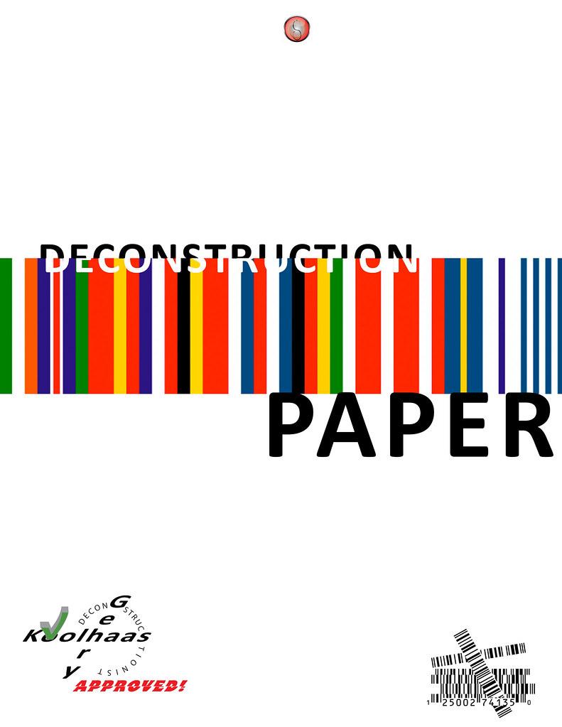 essay deconstruction essay