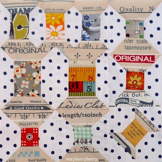 Vintage Spools Block for me! | by verykerryberry