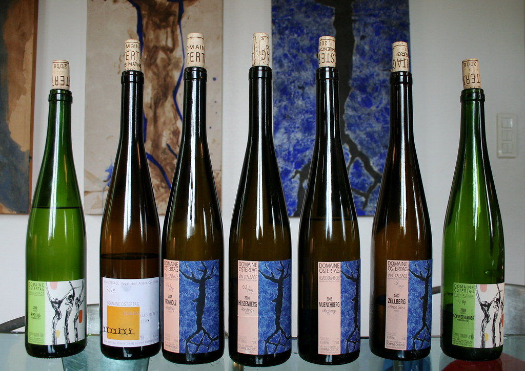 Alsace France Domaine Ostertag Exquisite Wines From