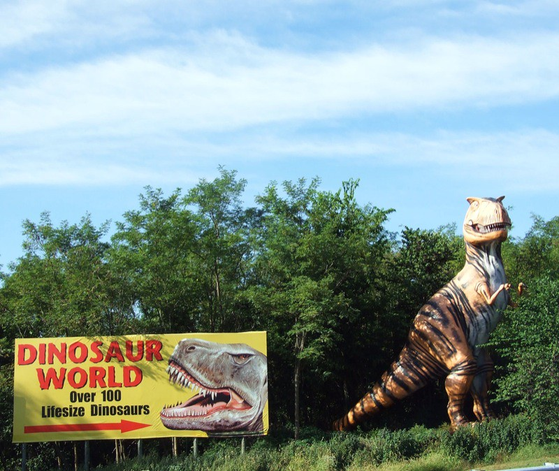 Dinosaur World In Southern Kentucky What Is This State 39 S