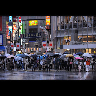 Shibuya crossing under the rain | by Laurent T (aka thery_lg)