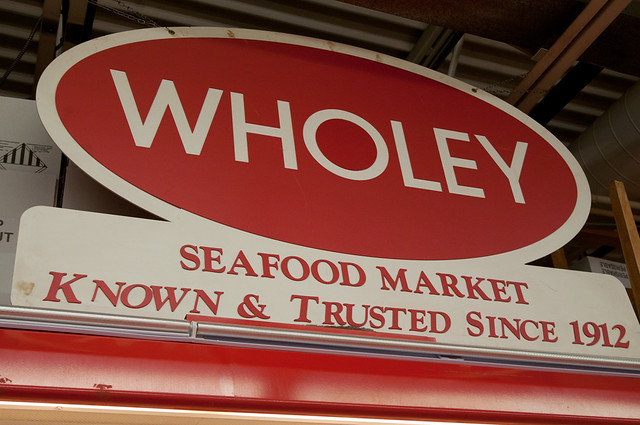Wholey fish market flickr photo sharing for Wholey s fish market