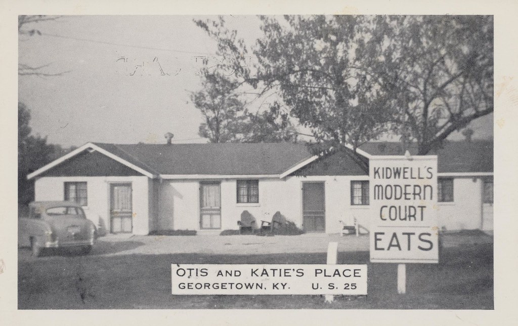 Kidwell's Modern Motel - Georgetown, Kentucky
