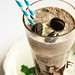 Oreo Milkshakes with Homemade Chocolate Syrup