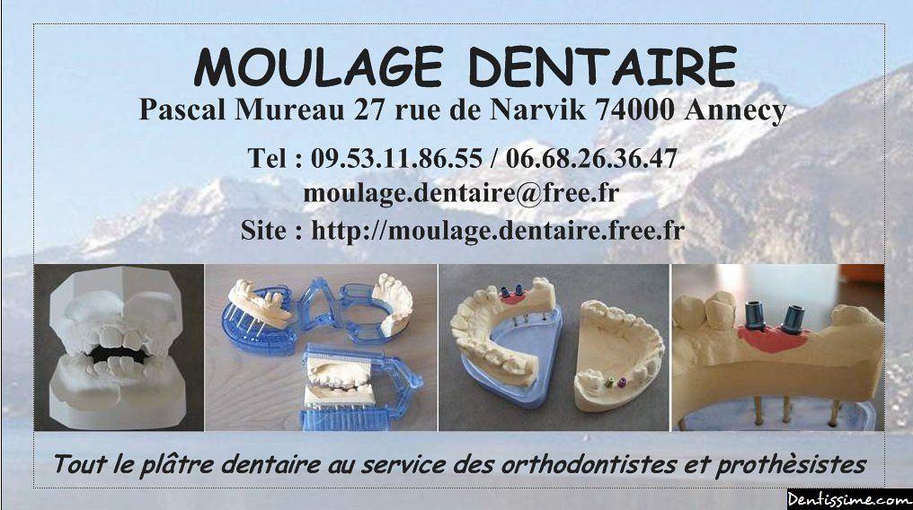 Carte De Visite Moulage Dentaire
