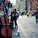 The cellist of Royal Mile