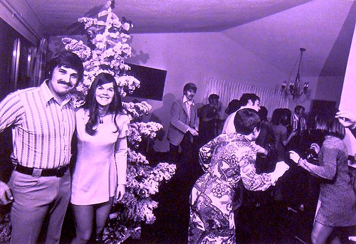 1971 Christmas Party Bill Owens 1970s Photo Vintage Suburb