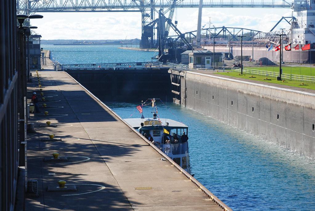 Soo Locks Boat Tours Sault Ste Marie Michigan