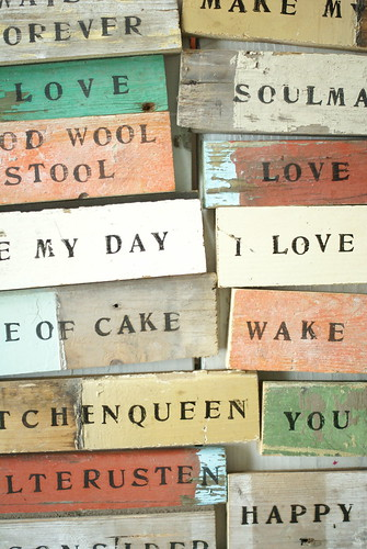 wood & word sign | by wood & wool stool