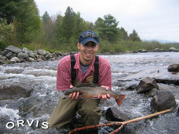 Orvis fly fishing contest rapid river brookie native for Orvis fly fishing blog