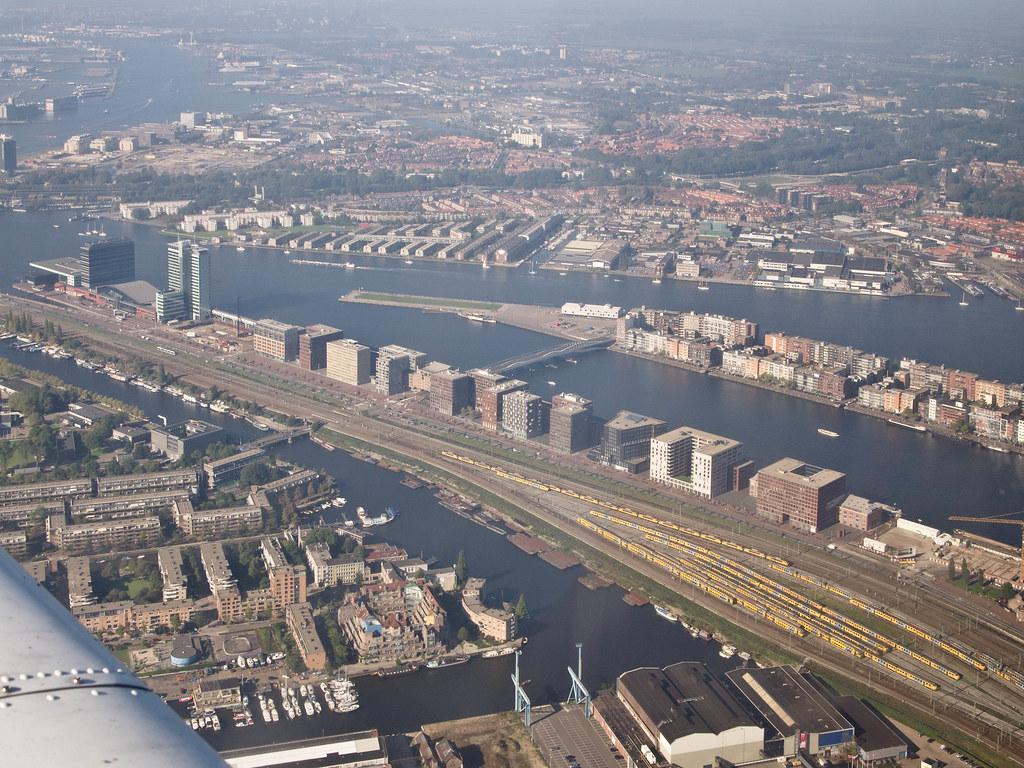 Amsterdam Aerial Luchtfoto Van De Piet Heinkade En Kop