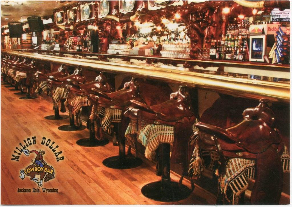 Million Dollar Cowboy Bar Jackson Hole Wyoming