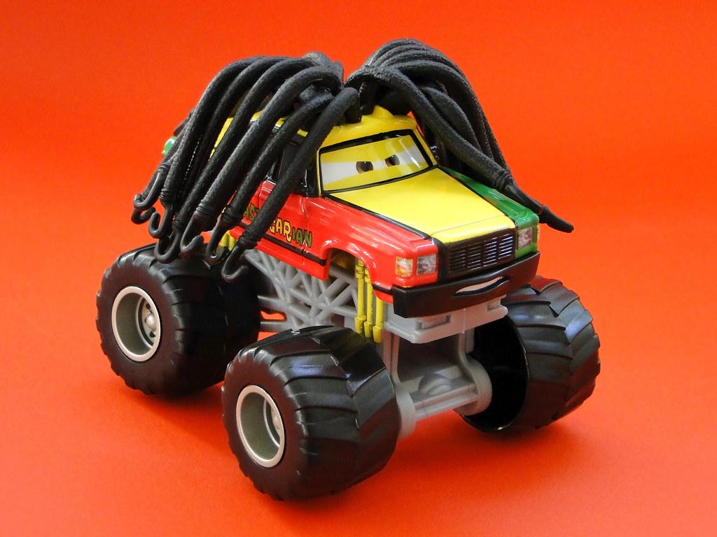 Mattel Cars Toons Monster Truck Mater Diecast Rastacarian Flickr