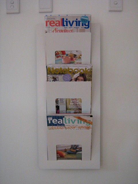 repainted ikea magazine rack   Flickr - Photo Sharing! - photo#14