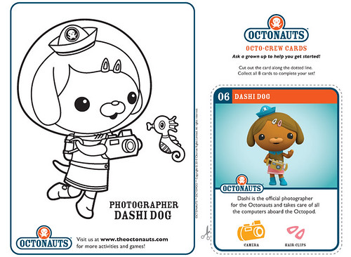 octonauts gup x coloring pages - photo#36