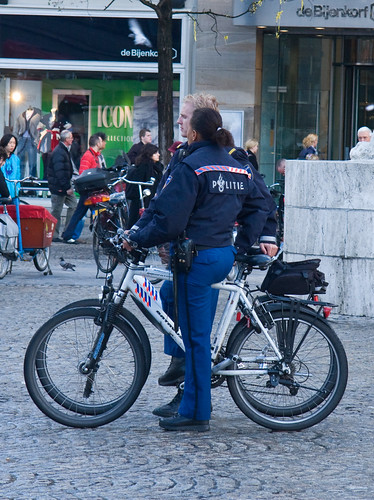 Amsterdam Cycle Chic - Police | by Mikael Colville-Andersen