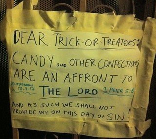 No treats, just boos | by passiveaggressivenotes