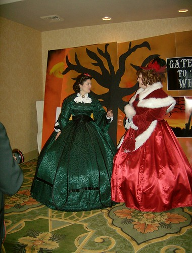 Wearing Scarlett O'Hara's Green Christmas Dinner gown~ Rivals, Scarlett O'Hara and Belle Watling | by ohairas