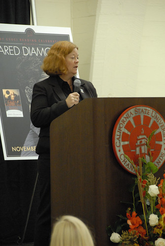Associate Provost, Renny Christopher, speaking at the 2007 Campus Reading Celebration | by California State University Channel Islands