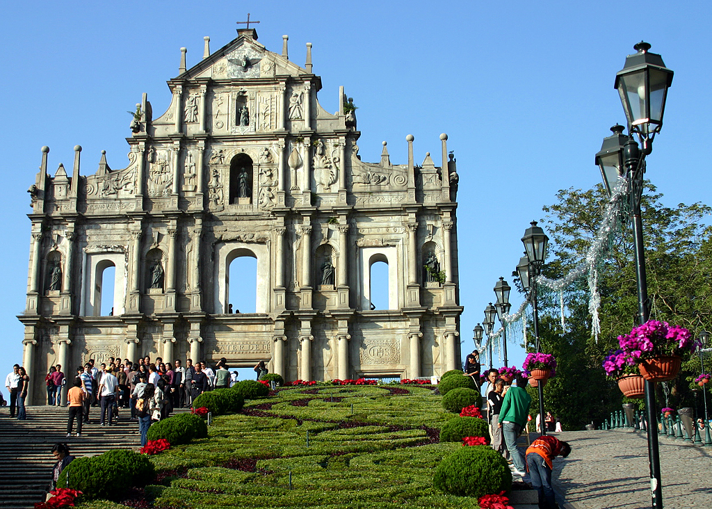 ruins of st pauls macau china the ruins of st