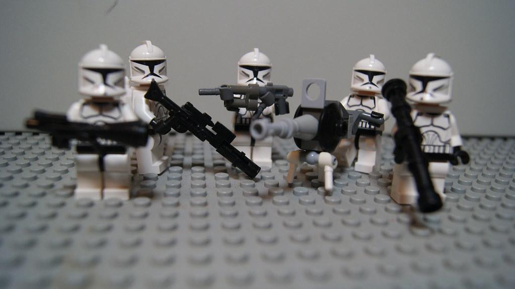 how to make lego star wars guns