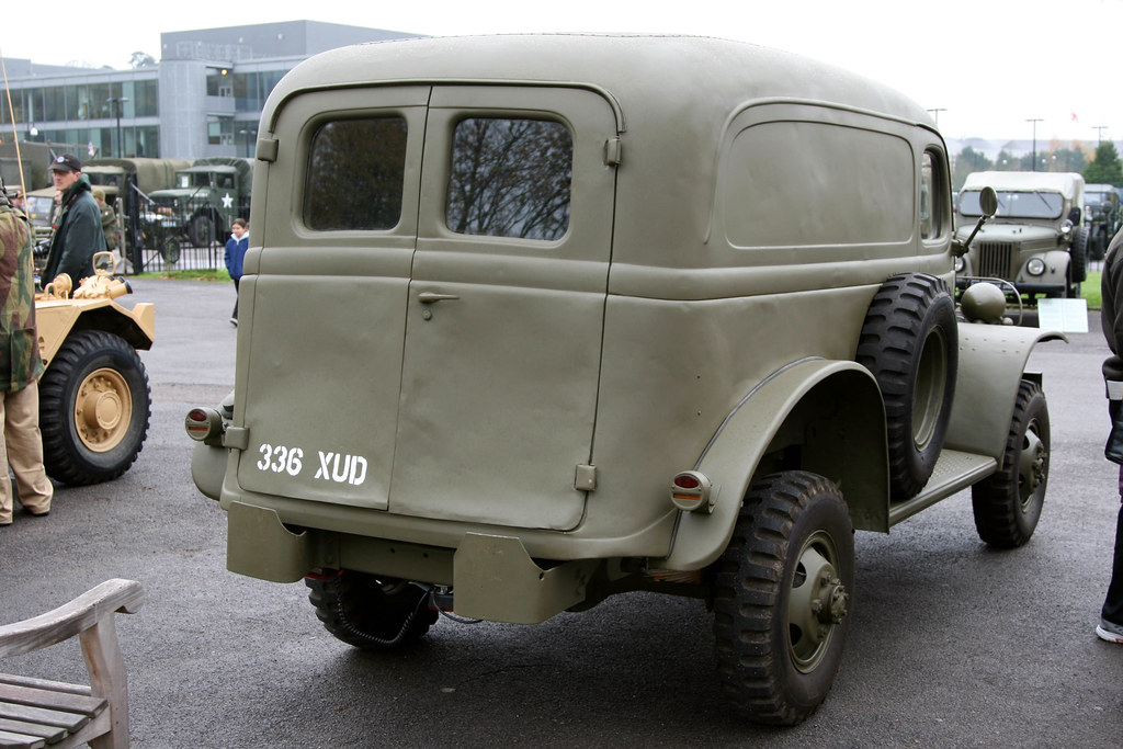 Brooklands Museum Military Vehicles Day 1941 Ww2 Dodge W Flickr