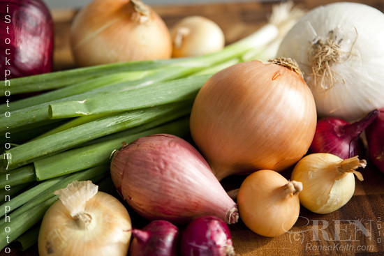 Different Types Of Onions...