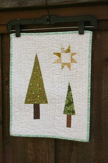 Winter Forest Mini Quilt | by QuiltsByEmily