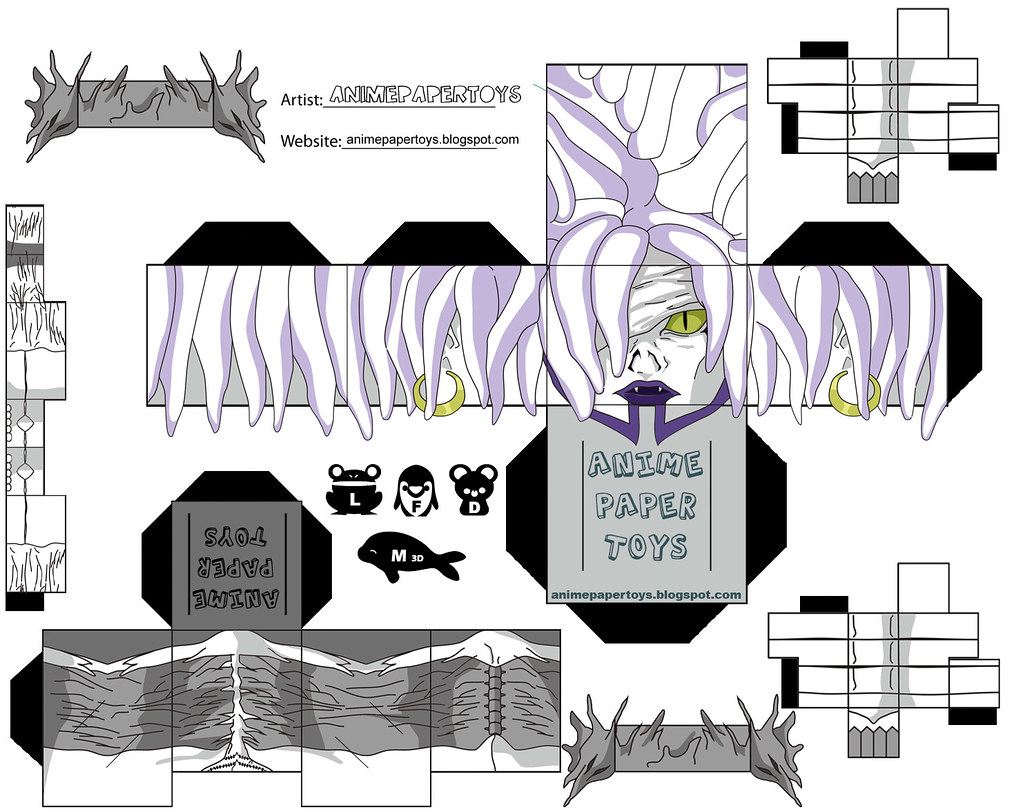 REM (DEATH NOTE) | animepapertoys | Flickr