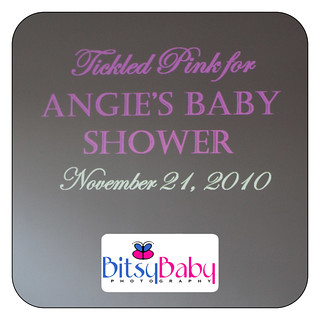 Tickeled Pink at Angie Goff's Baby Shower | by Bitsy Baby Photography [Rita]
