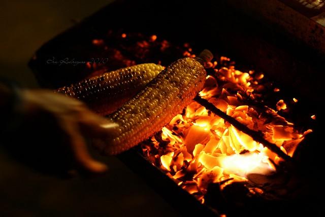 Budaya Bakar Jagung di Malam Tahun Baru